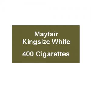 Mayfair Kingsize White Cigarettes - 20 Packs of 20