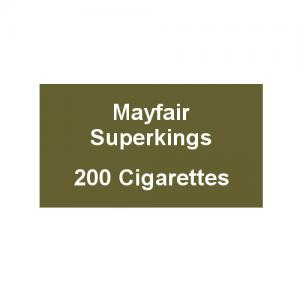 Mayfair Superkings Cigarettes - 10 Packs of 20