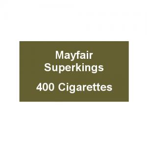 Mayfair Superkings Cigarettes - 20 Packs of 20