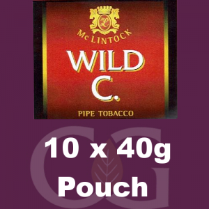 McLintock Wild C Pipe Tobacco 10x40g Pouches