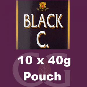 McLintock Black C Pipe Tobacco 10x40g Pouches