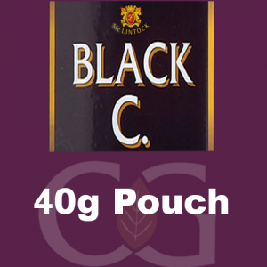 McLintock Black C Pipe Tobacco 40g Pouch