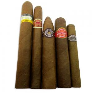 All Day Long Cuban Medium Strength Sampler - 5 Cigars