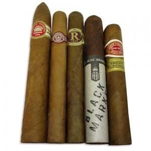 Take a Walk on the Mild Side Sampler - 5 Cigars