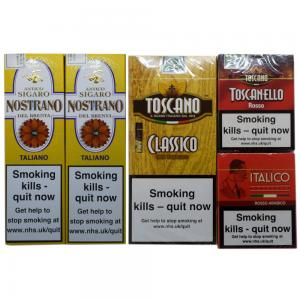 ADDED VALUE - Mixed Italian Cigars Selection Packs