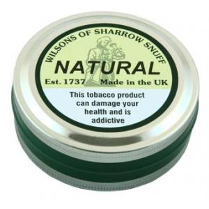 Wilsons of Sharrow - Natural Snuff - Large Tin - 20g