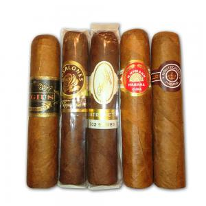 Exclusive Half Corona Mixed Sampler - 5 Cigars