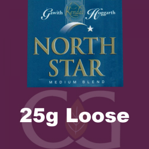 North Star Medium Blend Pipe Tobacco 0025g Loose