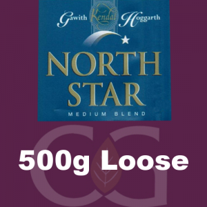 North Star Medium Blend Pipe Tobacco 0500g Loose