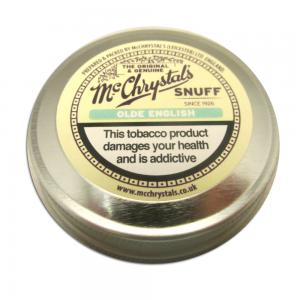 McChrystal's Olde English Snuff - Large Tin - 8.75g