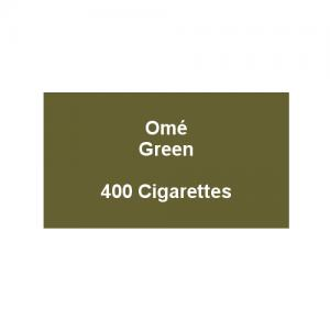 Ome Green Superslims - 20 packs of 20 cigarettes (400)