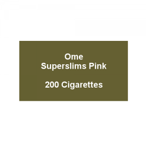 Ome Superslims Pink - 10 packs of 20 cigarettes (200)