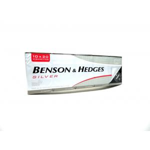 Benson & Hedges Silver Kingsize - 10 Packs of 20 Cigarettes (200)