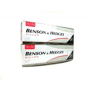 Benson & Hedges Silver Kingsize - 20 Packs of 20 Cigarettes (400)