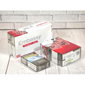 Embassy No. 1 Red Kingsize - 10 packs of 20 cigarettes (200)