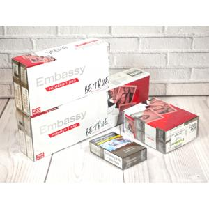 Embassy No. 1 Red Kingsize - 20 packs of 20 cigarettes (400)