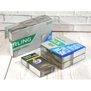 Sterling New Green Superkings - 10 Packs of 20 Cigarettes (200)