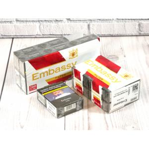 Embassy Filter - 10 packs of 20 Cigarettes (200)