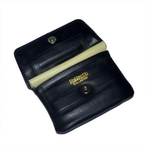 Dr Plumb Leather Wallet Style Tobacco Pouch with Belt Loop & Paper Holder