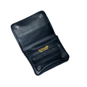 Dr Plumb Mini Hand rolling Leather Tobacco Pouch Black