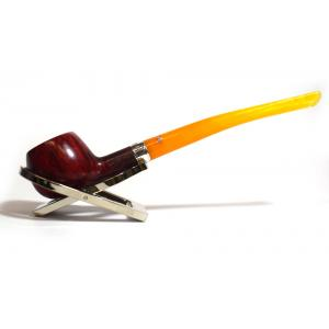 Peterson Classic Slimline 406 Silver Mounted Fishtail Pipe (PE1014)