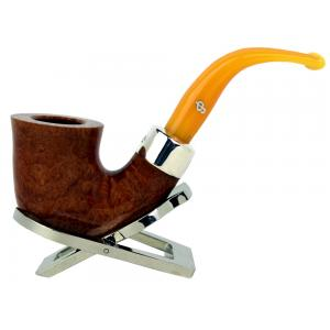 Peterson Royal Kapp 05 Silver Mounted Fishtail Pipe (PE168)