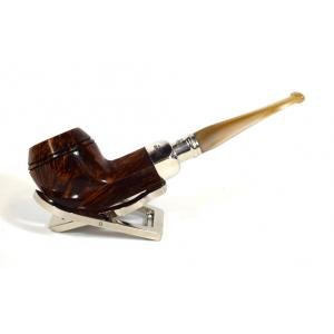 Peterson Flame Grain Champagne Spigot Fishtail Pipe 150 (PE548)