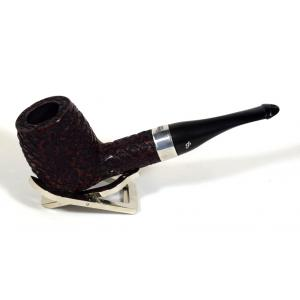 Peterson Large House Straight Billiard Rustic P/Lip Pipe (PE595)