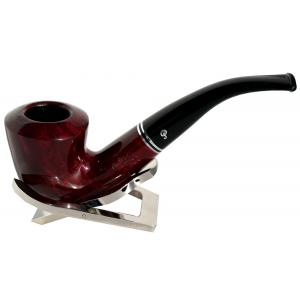 Peterson Killarney B10 Red 9mm Filter Brass Ring Fishtail Pipe (PE637)