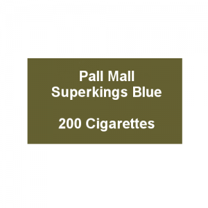 Pall Mall Superkings Blue - 10 Packs of 20 Cigarettes (20)