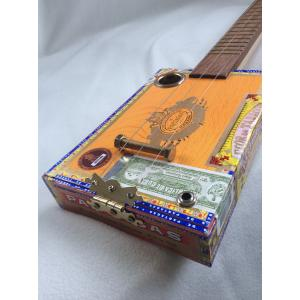 Handcrafted Partagas Cigar Box Guitar