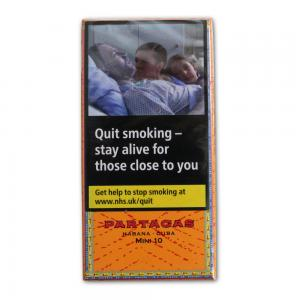 Partagas Mini Cigarillos - Pack of 10