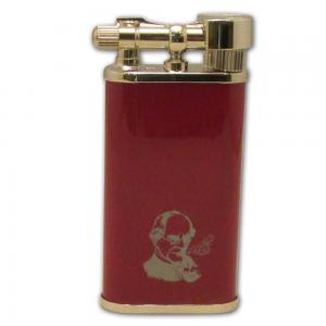 Peterson Pipe Lighter - Red