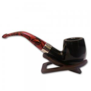 Peterson Dracula Fishtail Smooth Pipe - 068
