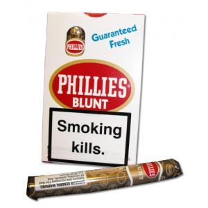 Phillies Blunts Cigar -  Pack of 5 cigars