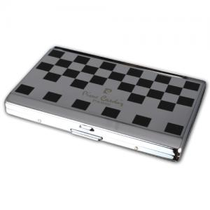 Pierre Cardin Small Cigarette Case - Checkerboard