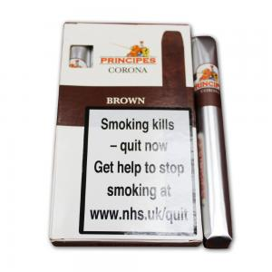 La Aurora Principes Corona Brown Cigar - Pack of 5