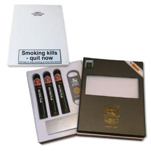 EMS Cigar Gift Pack - Punch Coronation - 3  Tubed Cigars (Discontinued)