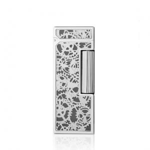 Dunhill - Skeleton Palladium Plated Rollagas Lighter (End of Line)