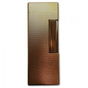 Dunhill Rollagas Lighter - Gold Plated, Barley Finish