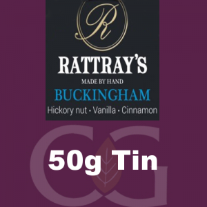 Rattrays Buckingham Pipe Tobacco 50g Tin