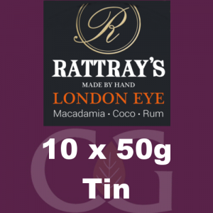 Rattrays London Eye Pipe Tobacco 10x50g Tins