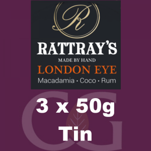 Rattrays London Eye Pipe Tobacco 3x50g Tins