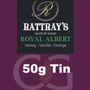 Rattrays Royal Albert Pipe Tobacco 50g Tin