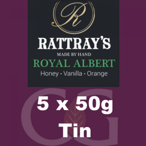 Rattrays Royal Albert Pipe Tobacco 5x50g Tins