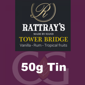 Rattrays Tower Bridge Pipe Tobacco 50g Tin