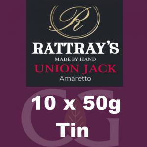 Rattrays Union Jack Pipe Tobacco 10x50g Tins
