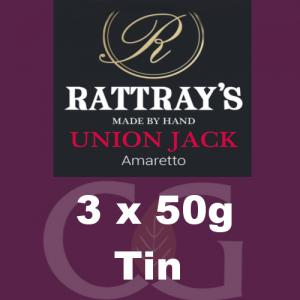 Rattrays Union Jack Pipe Tobacco 3x50g Tins