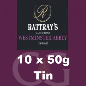 Rattrays Westminster Abbey Pipe Tobacco 10x50g Tins
