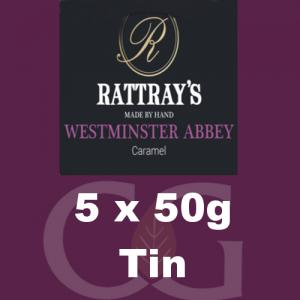 Rattrays Westminster Abbey Pipe Tobacco 5x50g Tins